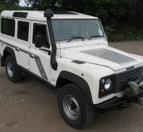 Land Rover White