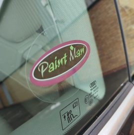 Paintman sticker