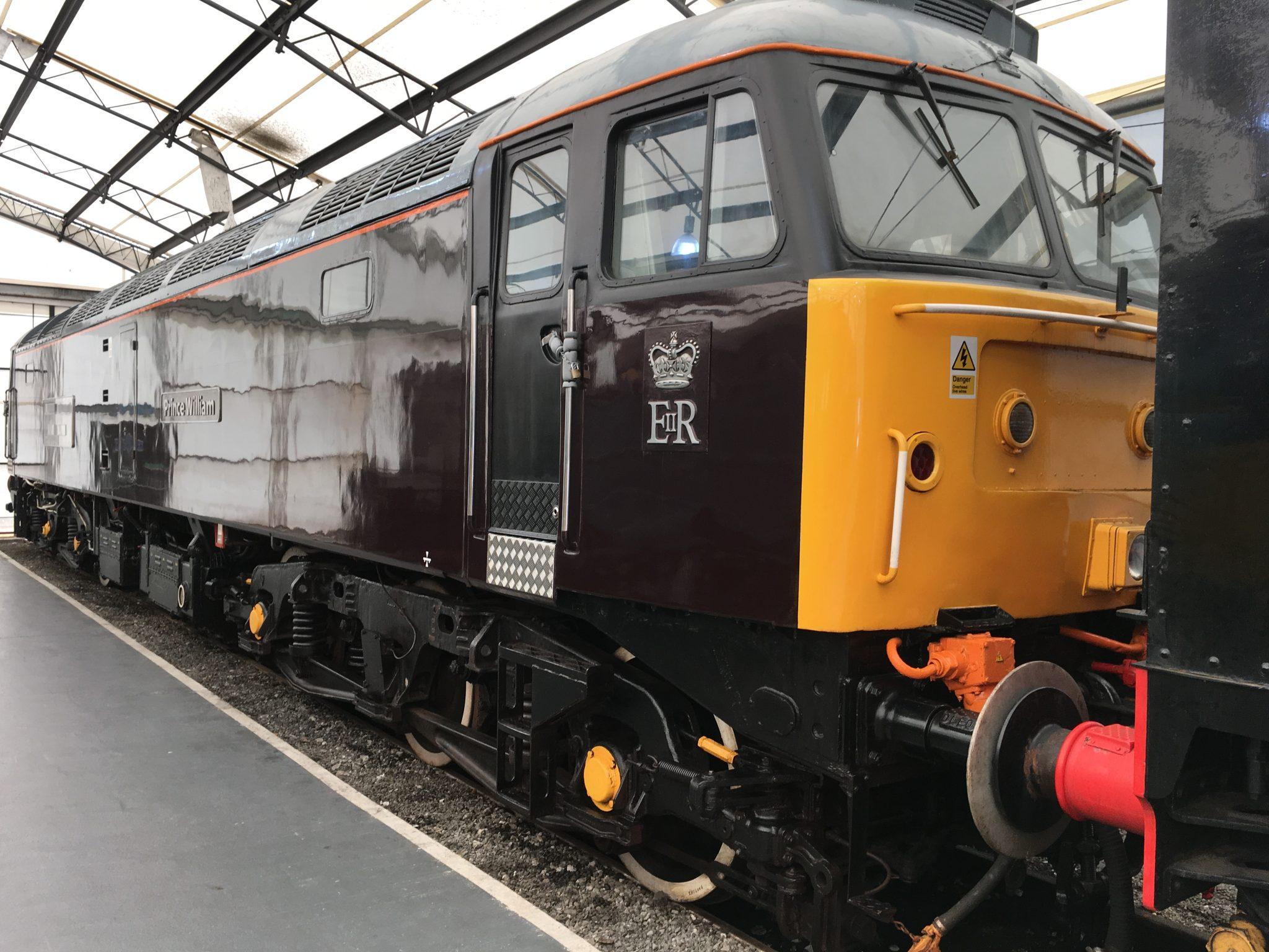 British Royal Train Plum