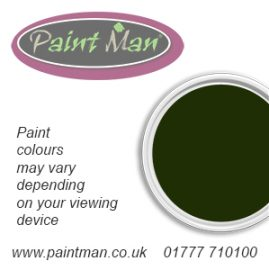 Deep Bronze green chassis paint