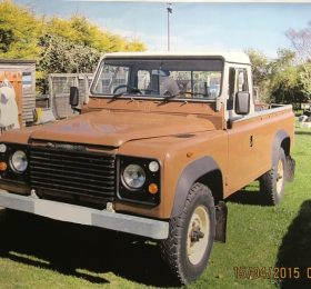Land Rover Brown
