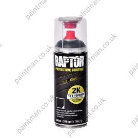 Raptor Protection 2K Aerosol - Tough and Tintable coatings